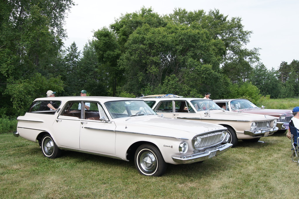 1962 Dodge Dart 440 & Plymouth Fury Station Wagon | 1st ...