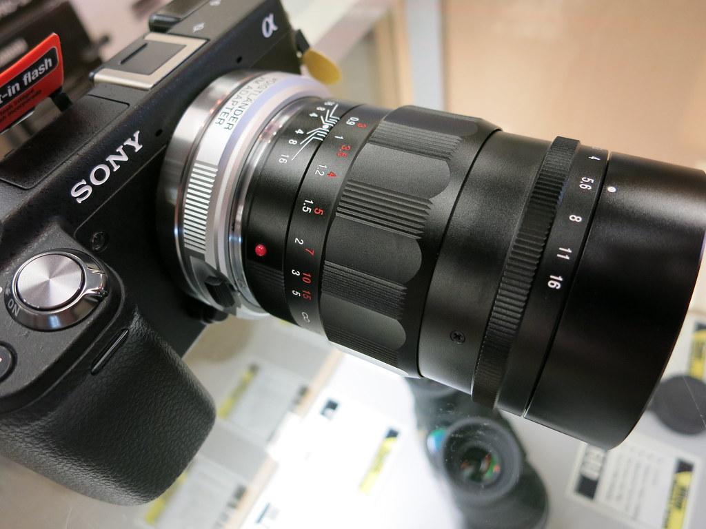 Voigtlander 75mm F/1.8