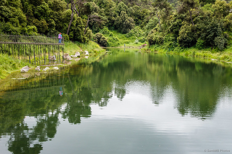 El pantano de Vallvidrera