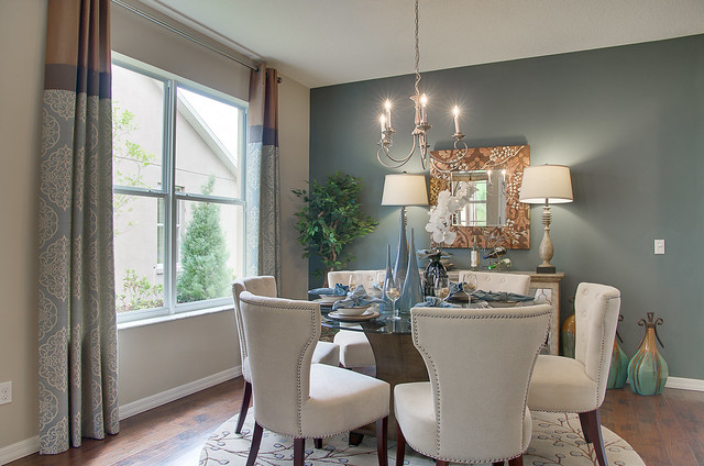 The Captiva Model Home In Woodland Lakes By Beazer Homes