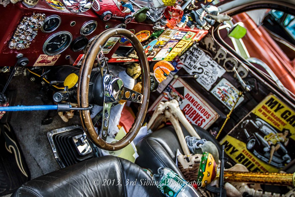 Rat Rod Deluxe Interior - Macungie, PA | Seen Saturday ...