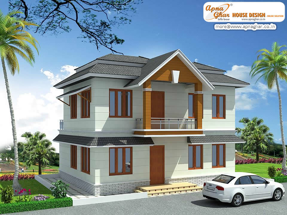 Beautiful duplex house design beautiful duplex house for Home designs kashmir