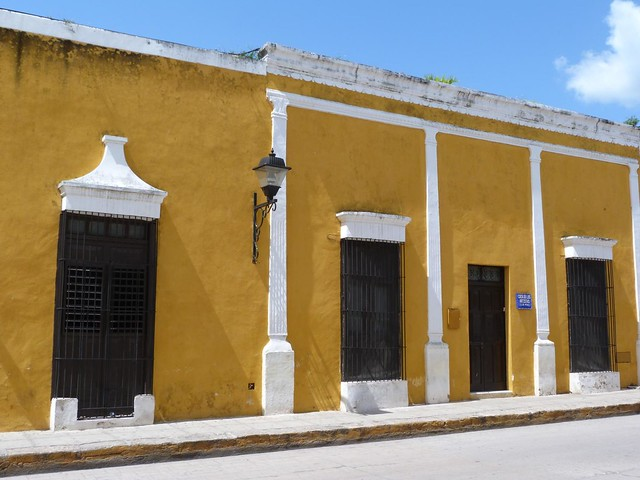 Calle de Izamal (Yucatán, México)