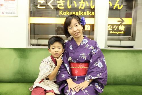 搭電車回京都