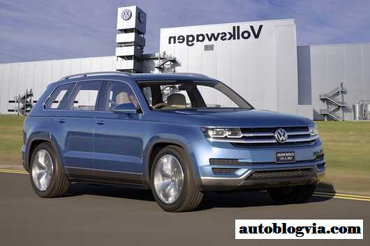 2017 vw 7 passenger suv will be created in the u s flickr. Black Bedroom Furniture Sets. Home Design Ideas