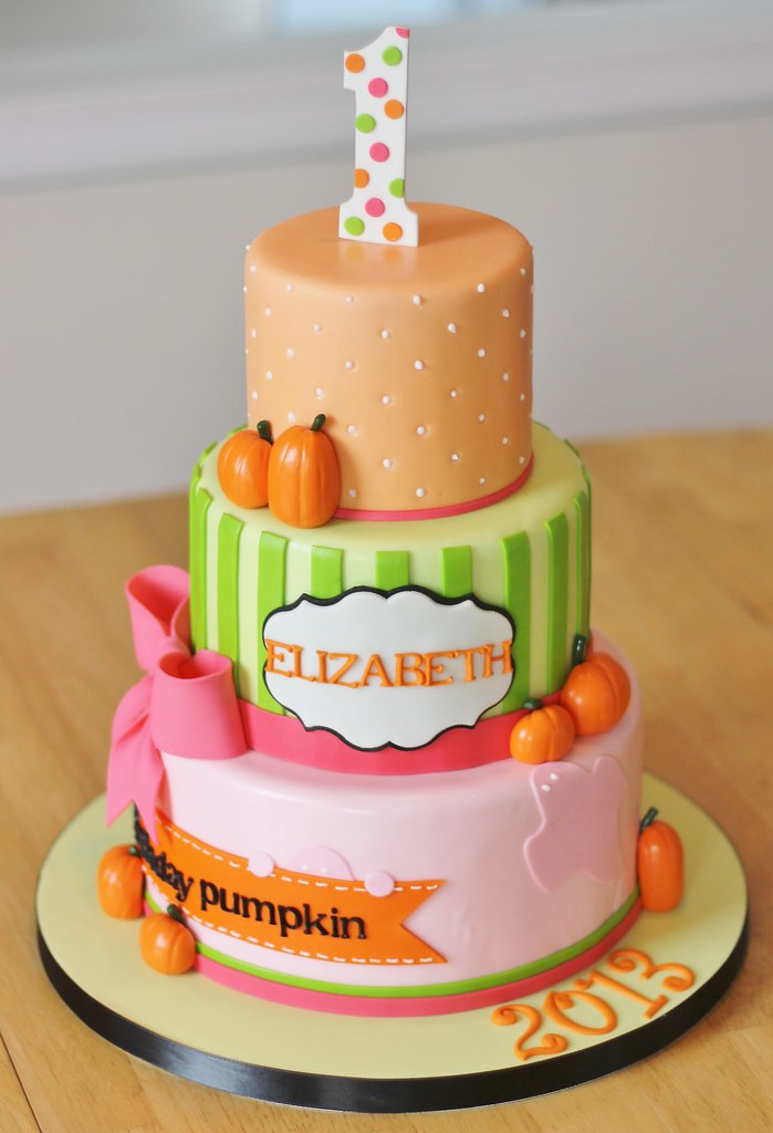 Pumpkin Patch Cake Ideas