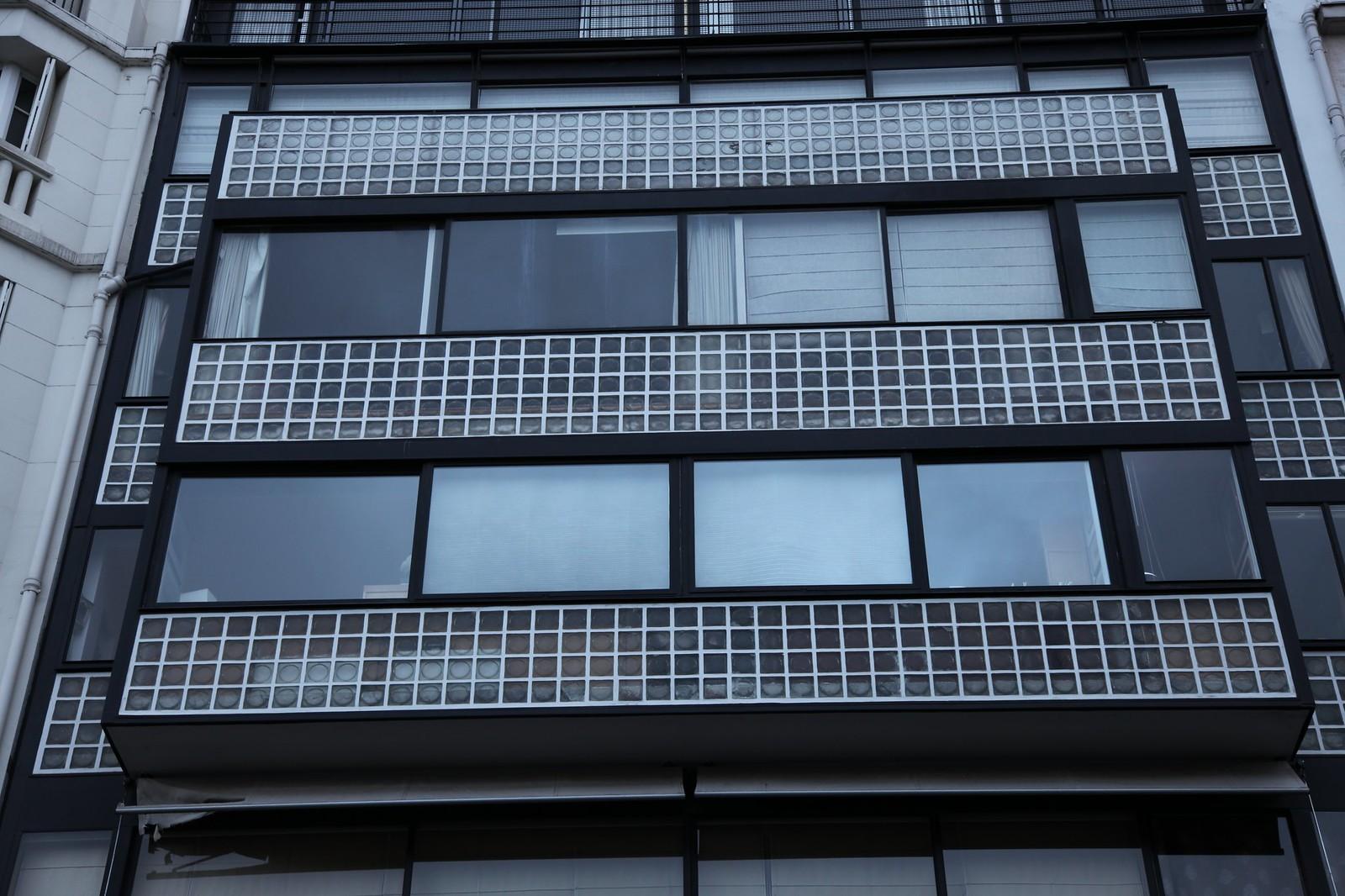 L'abitazione di Le Corbusier alla Porte Molitor, Parigi, Francia