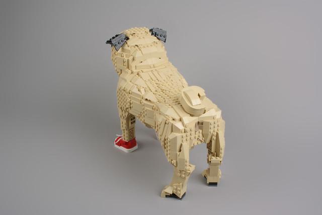Lego Black Dog