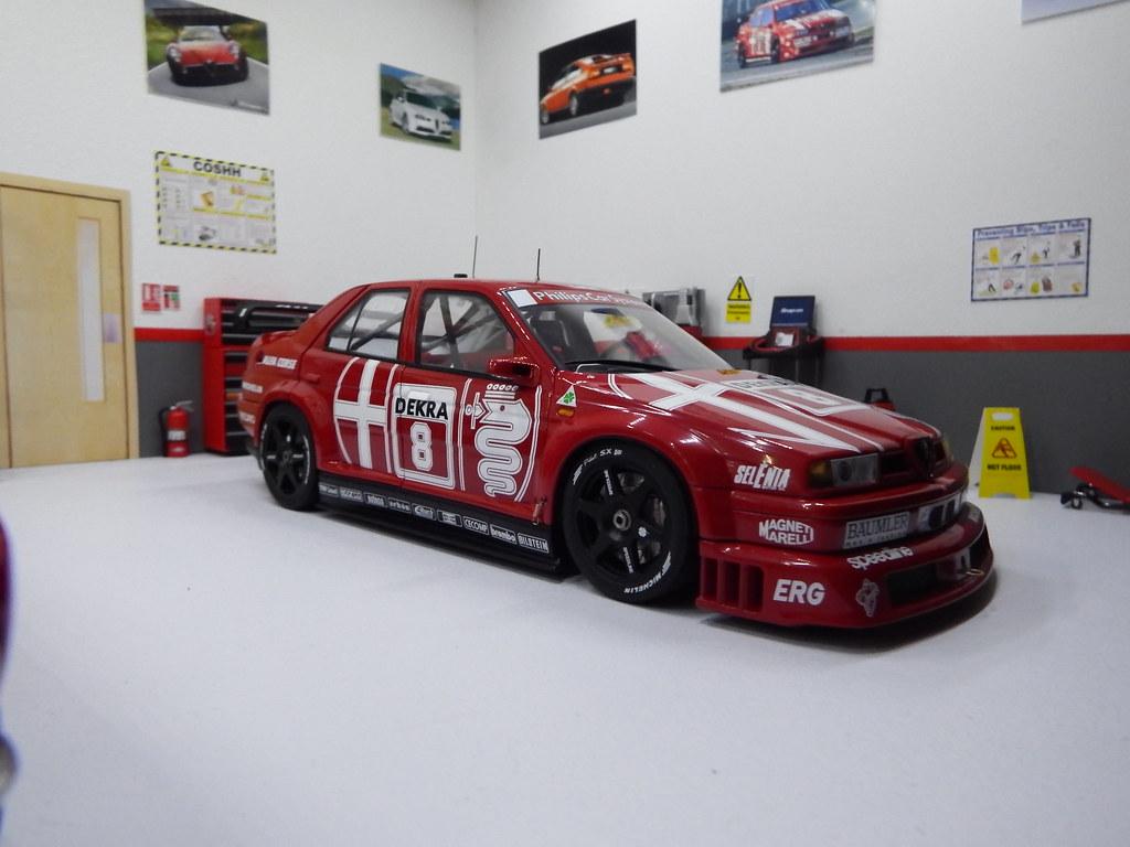 1 18 alfa romeo garage diorama 010 autoart 1 18 alfa for Garage alfa romeo 95