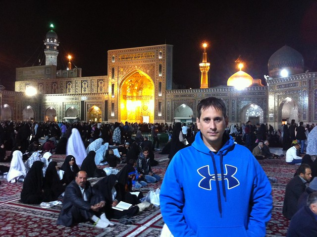 Sele en el Santuario de Imam Reza en Mashhad (Irán)
