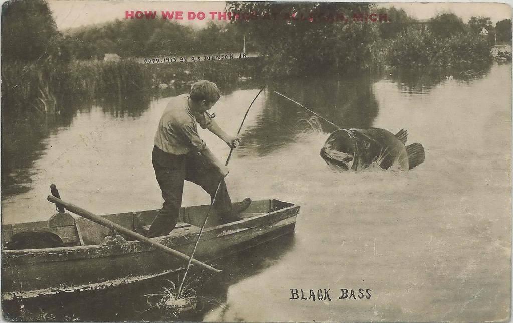 Sw allegan mi 1913 big sw michigan bass country with fish for Southwest michigan fishing report