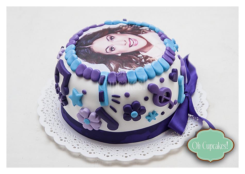 Torta Cake Design Violetta : Torta Violetta Oh Cupcakes La Plata Flickr