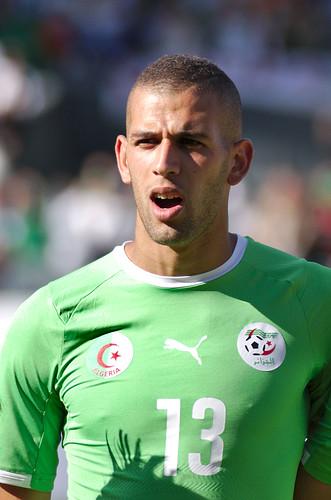 Islam Slimani, attaccante del Leicester City