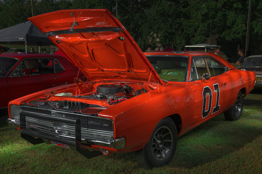 1969 dodge charger general lee rumbling bald resort la. Black Bedroom Furniture Sets. Home Design Ideas
