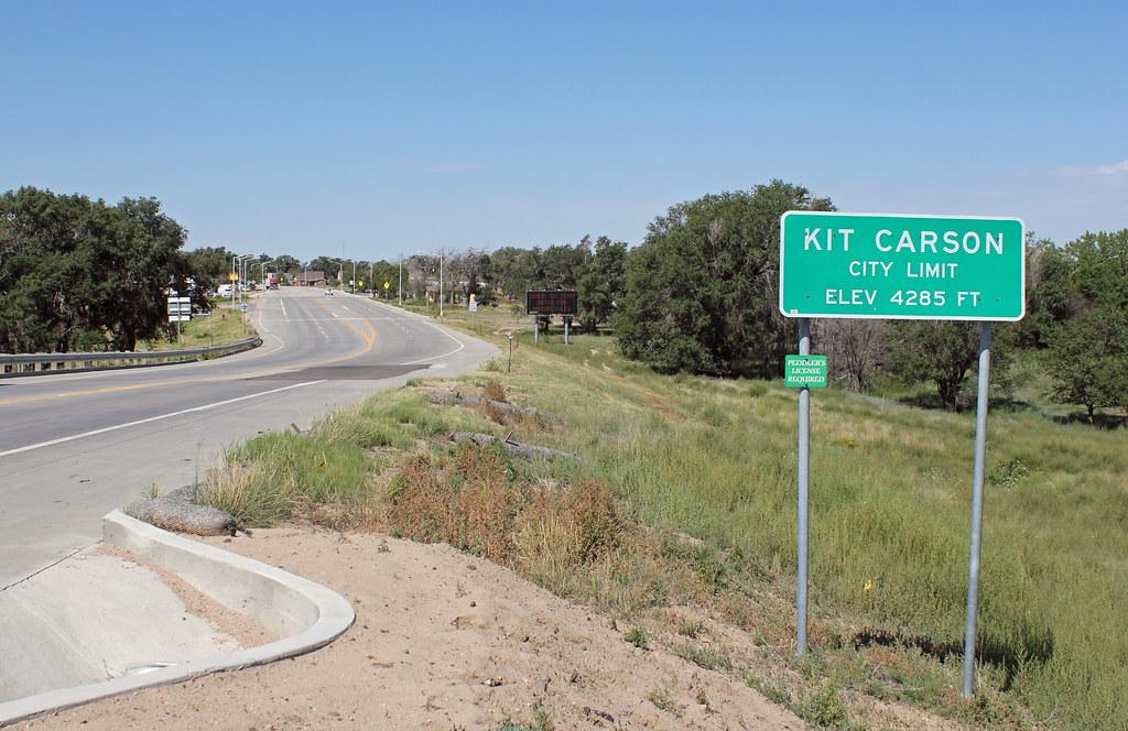 Kit Carson Colorado On Us Highway 287 Jeffrey Beall