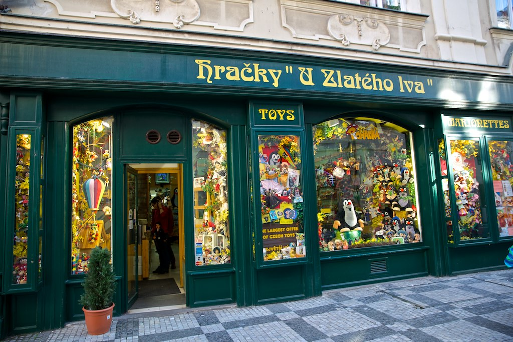 Krtek The Mole Specalty Store In Prague Old Town Czech R