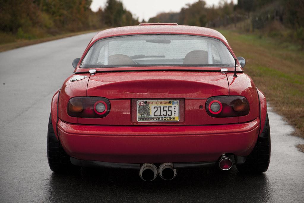 New Mazda Miata >> 1990 Miata Autokonexion Flares Rear | Yes this happened...ha… | Flickr