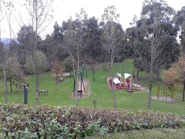 Parque Forestal de Monticaño en Arteixo