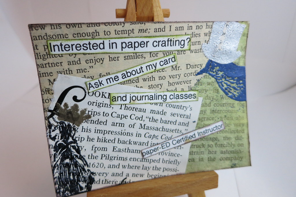 Promotion Tag: For My Classes At Michael's