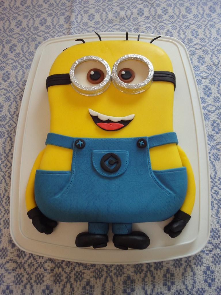 2014 02 Mai G 226 Teau De F 234 Te Minion Minion Birthday Cake