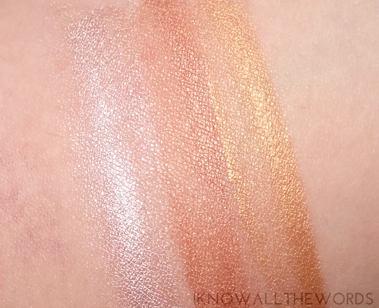 l'oreal true match lumi liquid powder glow illuminator review swatches (5)