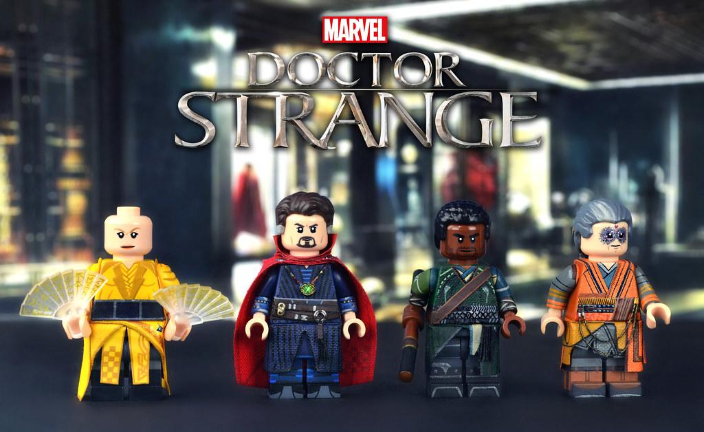 LEGO Marvel Doctor Strange Minifigures