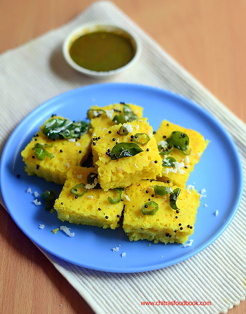 Easy dhokla recipe in microwave