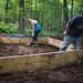 Tara & Rick Measuring Form for Impromptu Concrete Pad