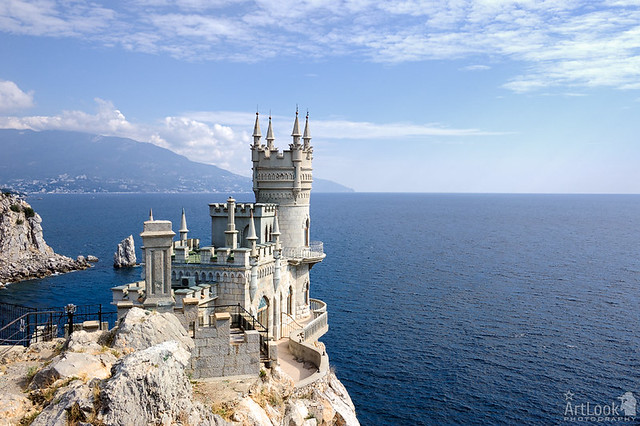 Swallow's Nest - The Symbol of the South coast of Crimea