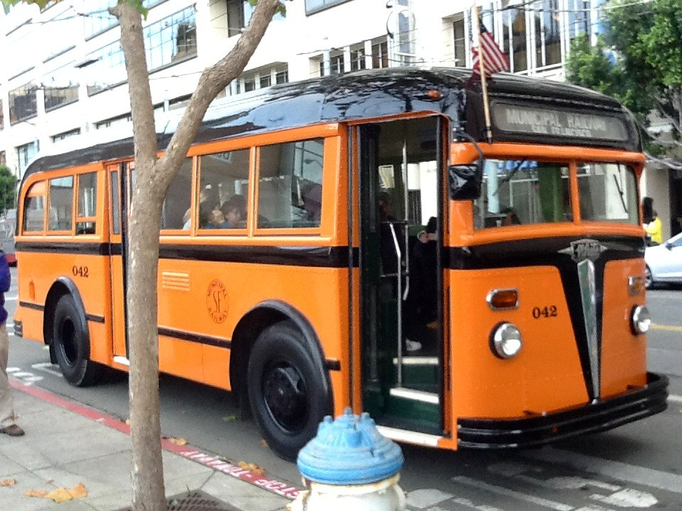 1938 white motor co bus that ran the sf muni 39 coit tower for White motor company trucks