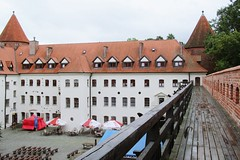 view on the castle