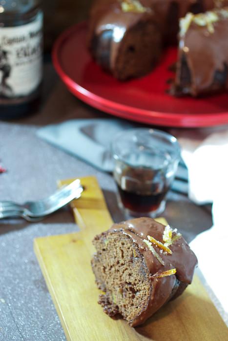 Chocolate Rum Cake Scratch