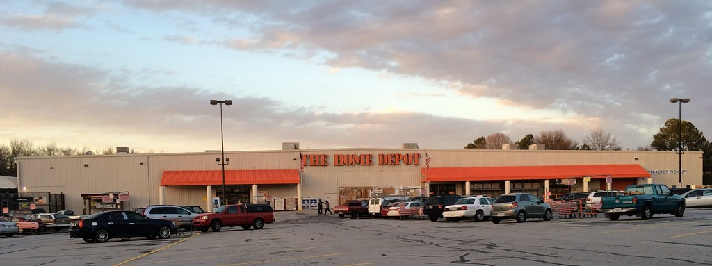 Home Depot White Frige