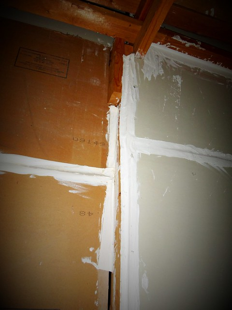 Non acm wallboard joint compound flickr photo sharing for Gypsum board asbestos
