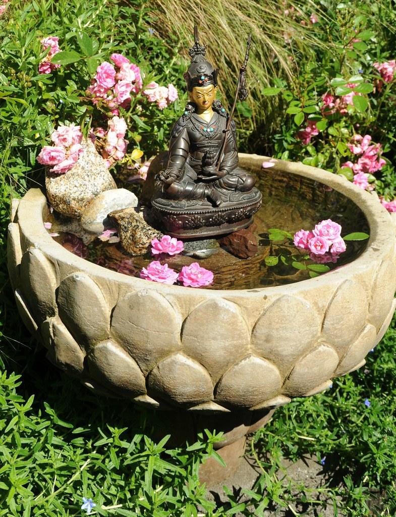 Blessed Statue Of Padmasambhava Cast Metal From Kathmandu Flickr