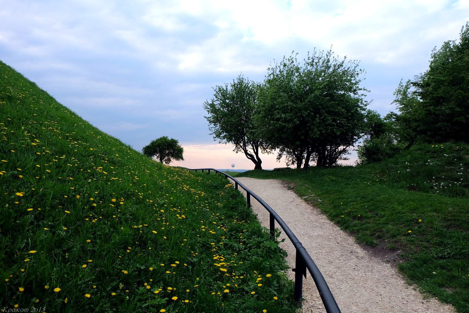 Kopiec Krakusa, Krakow, Poland