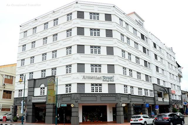 Armenian Street Heritage Hotel building