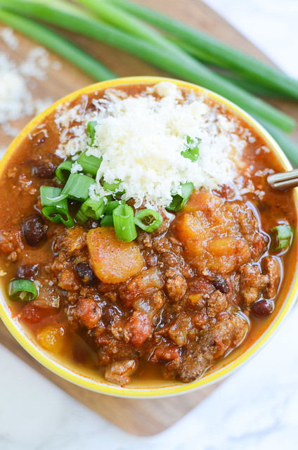 Turkey and Butternut Squash Chili