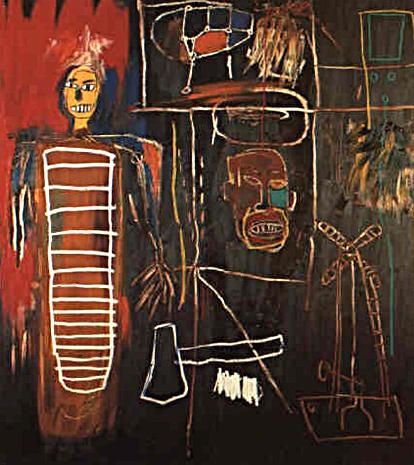 Jean-Michel Basquiat's Air Power