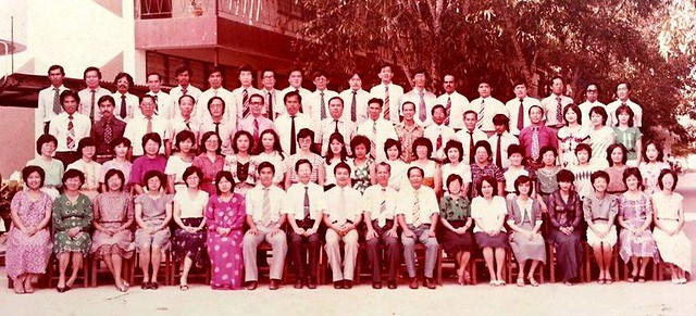 Chung Hua staff 1983