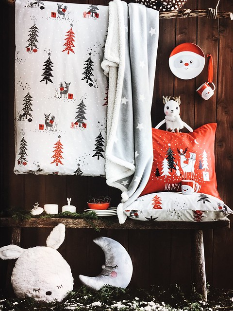 h&m, hennes and mauritz, h&m home, joulu, christmas, inspiration, decor, sisustus, koti, home, home interior, decoration, sisustaminen, interior design, pupu tyyny, bunny pillow, bunny cushion, pehmeä, sof, söpö, cute,
