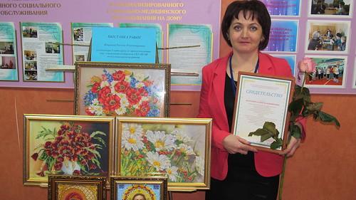 Галина Жагрова - лучший специалист по предоставлению социальных выплат