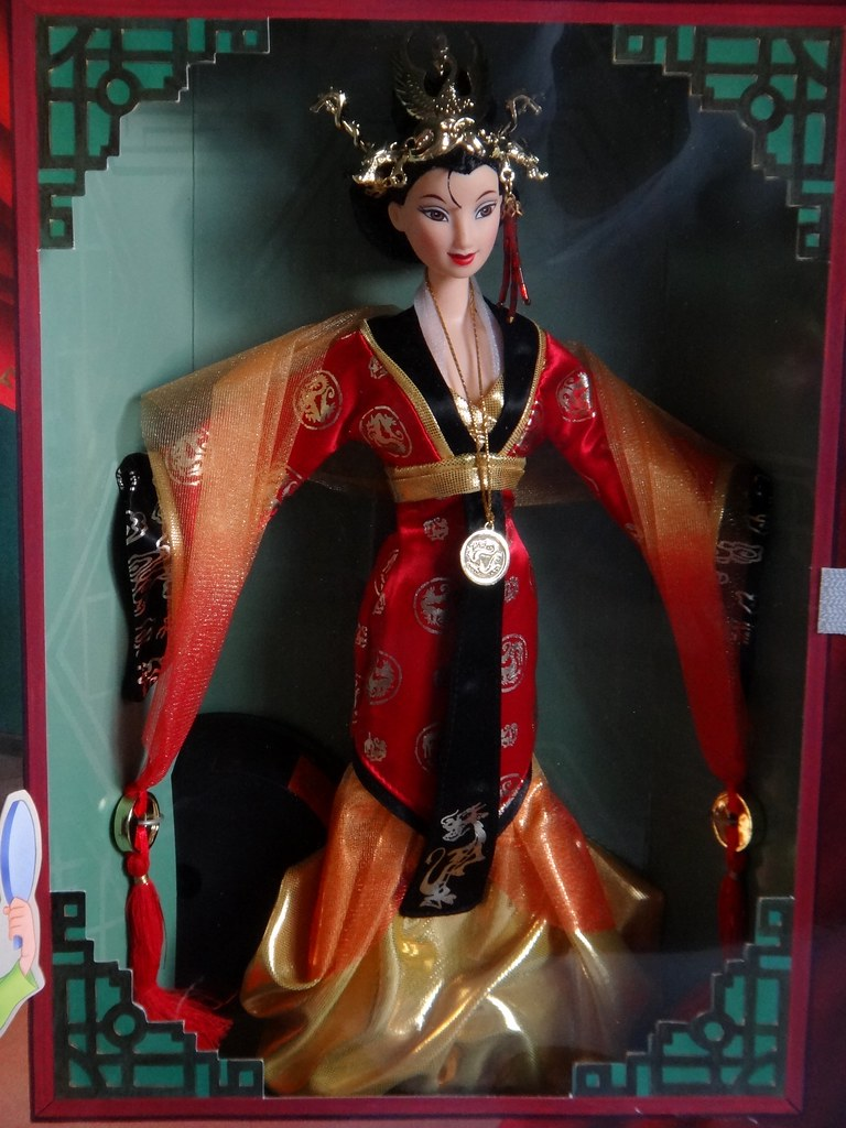 Imperial Beauty Mulan Mattel 1998 Disney Collector Do