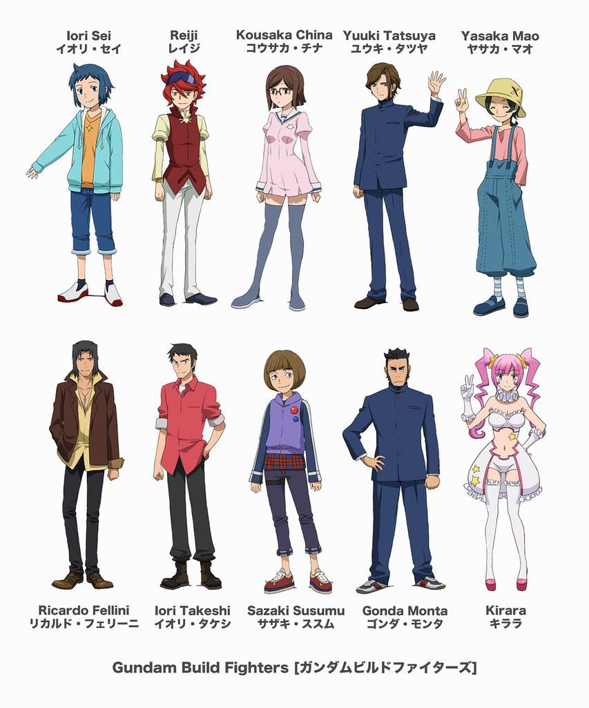 Gundam build fighters the story revolves around iori sei for Domon in gundam build fighters