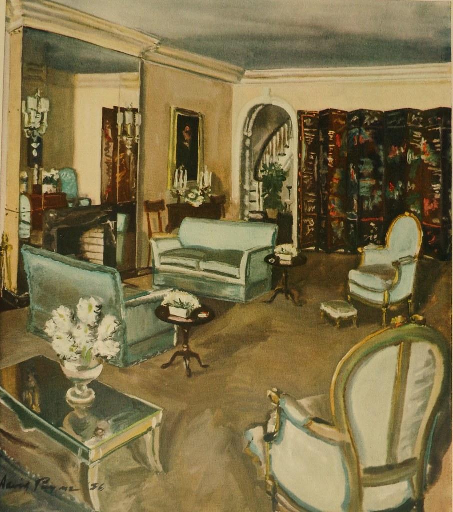 1930s Living Room By David Mode Payne