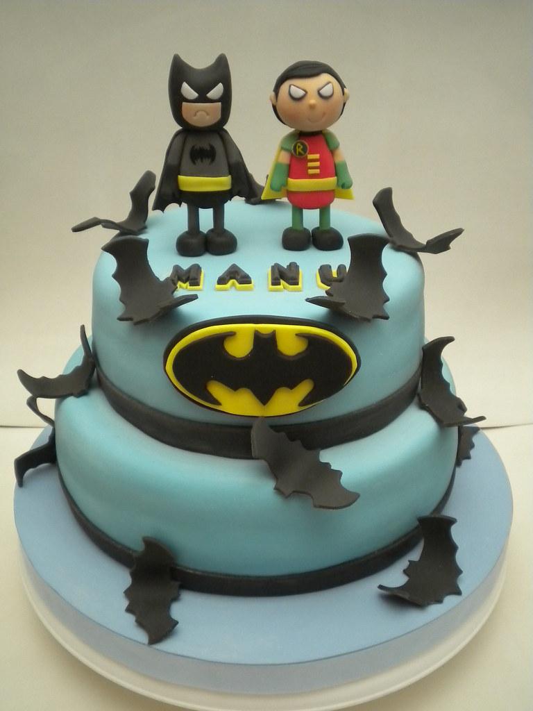 Batman Robin Birthday Cake