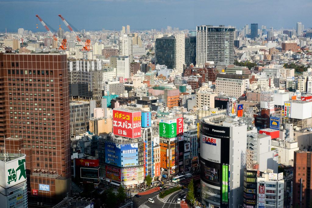 Shinjuku | 新宿エル・タワービル28Fから | Shinichiro Saka | Flickr