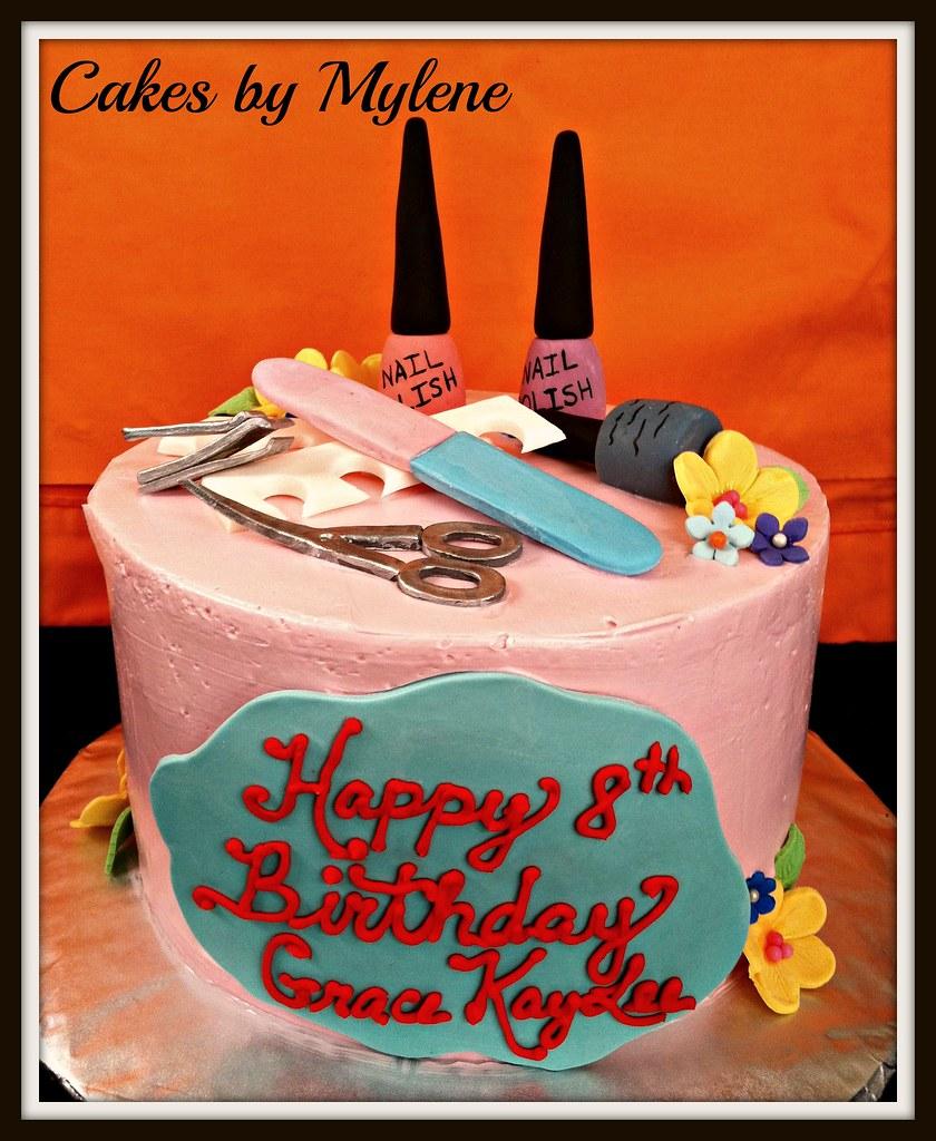 Cake Images Name Of Mani : Mani - Pedi Cake Cakes By Mylene Flickr