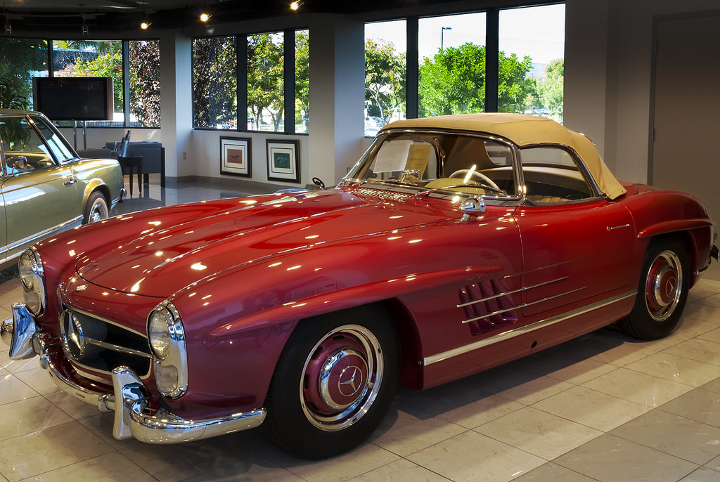 1957 Mercedes 300sl Roadster 1957 Was The First Year Of