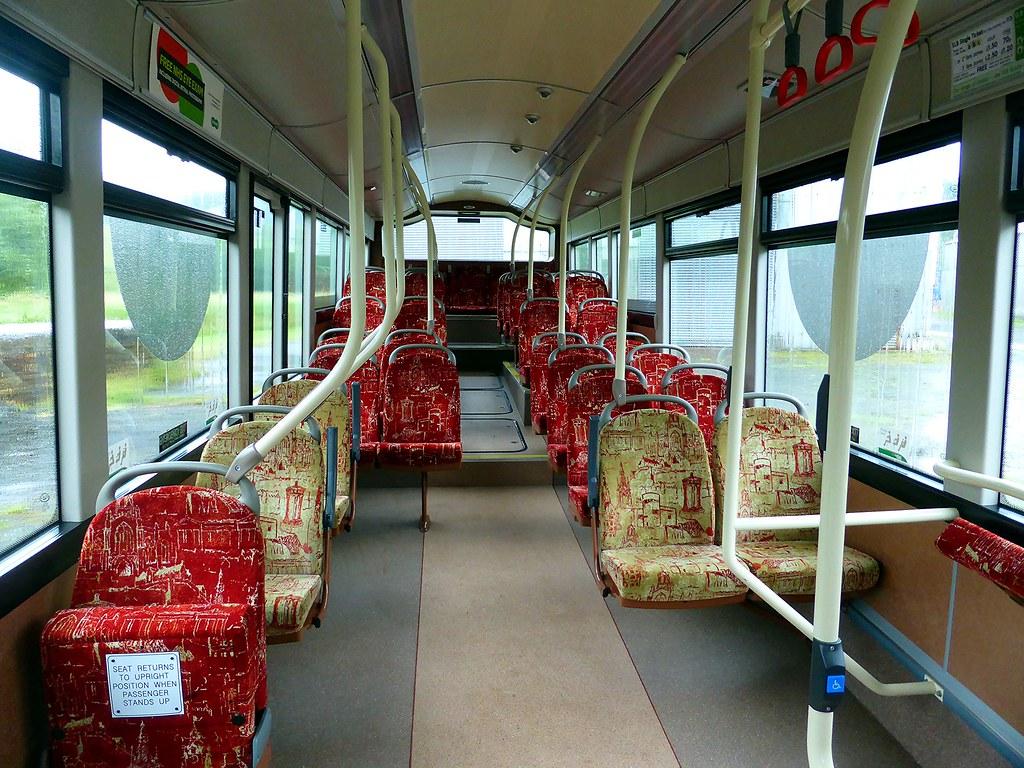 Interior shot of Lothian Buses' 195, Volvo B7RLE/Wright Ec… | Flickr